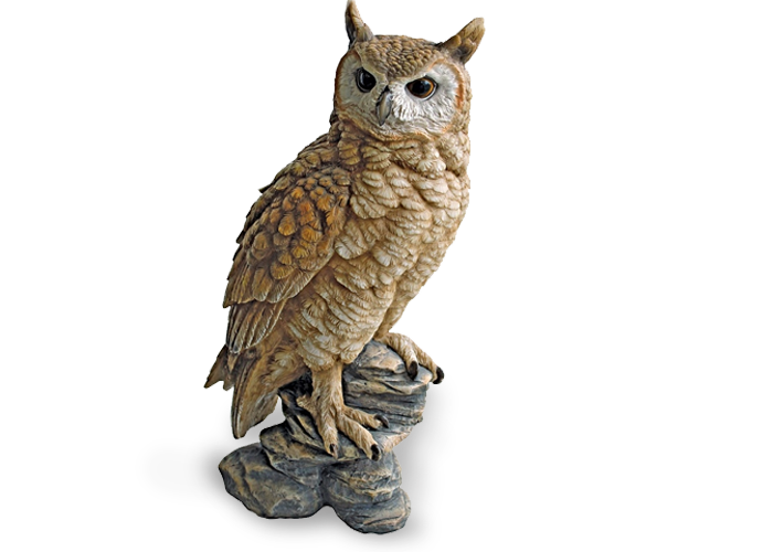 Toscano Perching Forest Owl Ornament
