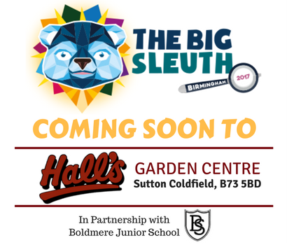 Big Sleuth Cub at Hall's Garden Centre