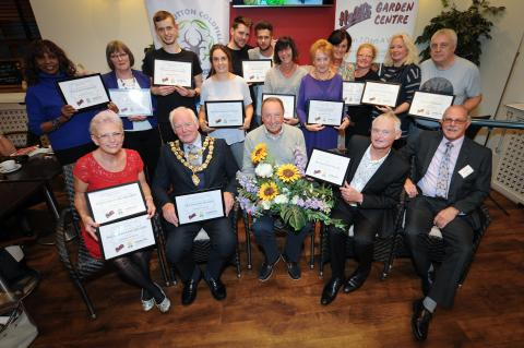 Sutton Coldfield in Bloom Winners