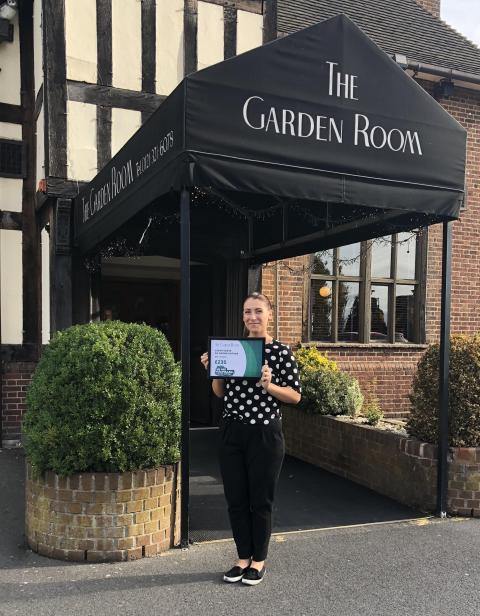 The Garden Room Raised Money For Macmillan Cancer Support