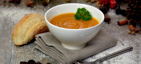 The Garden Room - Pumkin Soup