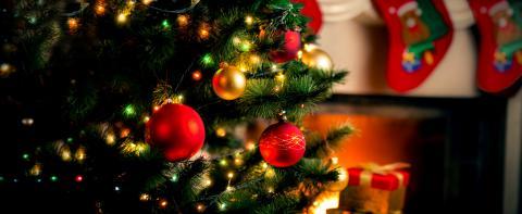 Christmas Tree Decorations & Lights